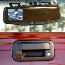 Ford F-150 & Super Duty Tailgate Handle Back Up Camera & Mirror
