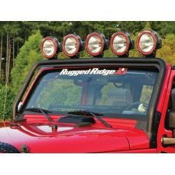 Rugged Ridge Jeep JK Windshield Light Bar