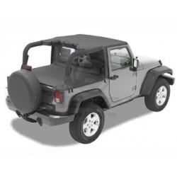 Bestop Jeep JK Header Bikini - 2007-09