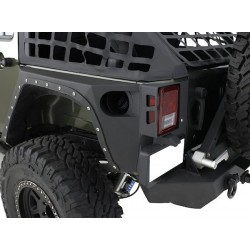 Smittybilt XRC Armor Rear Corners Jeep Wrangler JK Unlimited
