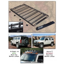 Gobi Hummer H3 Stealth Roof Rack