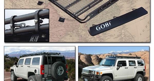 Gobi Hummer H3 Stealth Roof Rack on