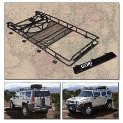 Gobi Hummer H3 Ranger Tire Carrier Roof Rack