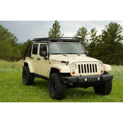 Gobi Jeep Wrangler JK45 Unlimited 4 Door Stealth Roof Rack