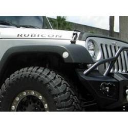 Recon Jeep Wrangler JK LED Front Fender Light - Clear