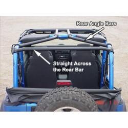 Rock Hard 4x4 Jeep Wrangler TJ Rear Angle Bars