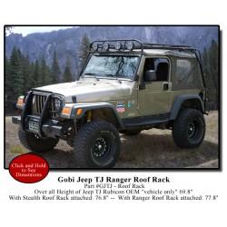 Gobi Jeep Wrangler TJ Ranger  Roof Rack
