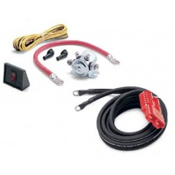 Warn 20 ft Rear Quick Connect Power Cable Kit