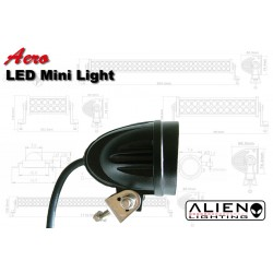 ALIEN Aero LED Mini Light