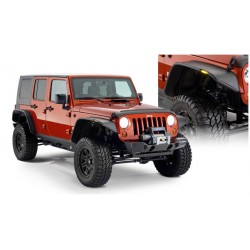 Bushwacker Jeep JK Unlimited 4 Dr Flat Fender Flares