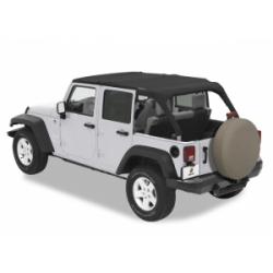 Bestop Jeep JK Unlimited Safari Bikini - 2007-09