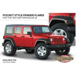 Bushwacker Jeep JK Pocket Fender Flares