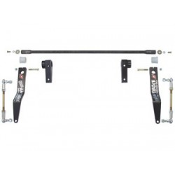 Currie Jeep JK Antirock Front Sway Bar - Steel Brackets & Arms