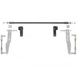 Currie Jeep JK Antirock Front Sway Bar - Billet Brackets & Arms