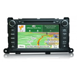 CARSHOW Toyota Sienna Factory Look Navigation GPS - 2011-13