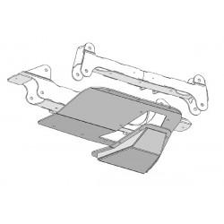 Fabtech Hummer H2 Diff Skid Plate