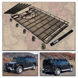 Gobi Hummer H1 Ranger Tire Carrier Roof Rack