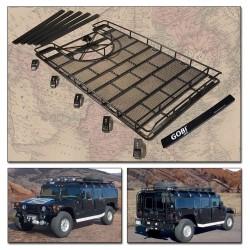 Gobi Hummer H1 Ranger Tire Carrier Roof Rack