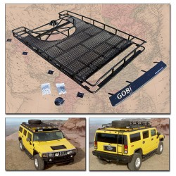 Gobi Hummer H2 Ranger Tire Carrier Roof Rack