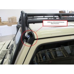 Gobi Jeep Wrangler JK Windshield Extreme Body Protection