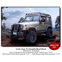 Gobi Jeep Wrangler TJ Stealth Roof Rack