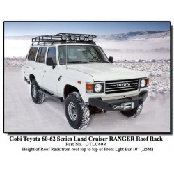 Gobi Toyota Land Cruiser 60-62 Series Ranger Roof Rack