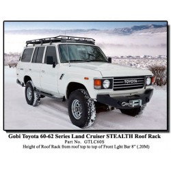 Gobi Toyota Land Cruiser 60-62 Series Stealth Roof Rack