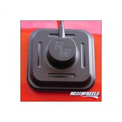 Real Wheels Hummer H3 Black Antenna Cover
