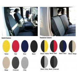 Iggee Jeep Wrangler JK Rear Seat Covers