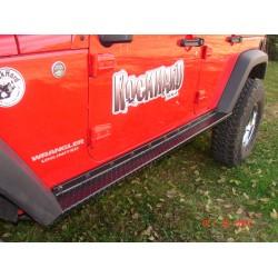 Rock Hard 4x4 Jeep Wrangler JK Rocker Guards