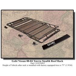 Gobi Nissan Xterra Stealth Roof Rack - 2000+